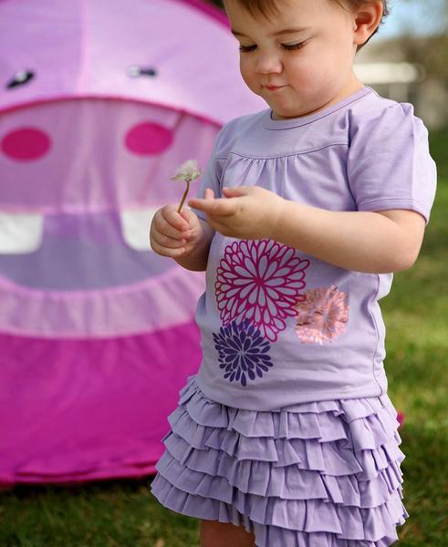 Новая юбочка RuffleButts размер 3года