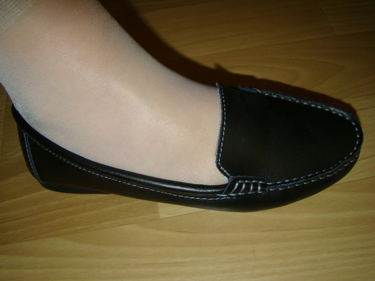 Женские кожаные макасины
