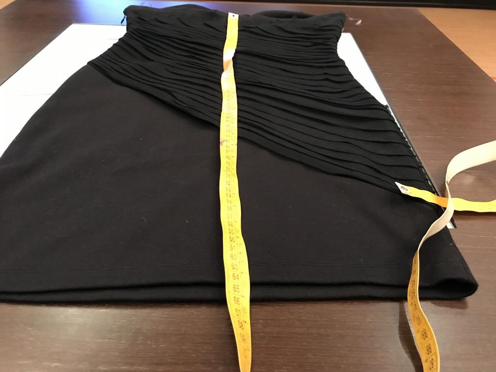 Платье чёрное р.L