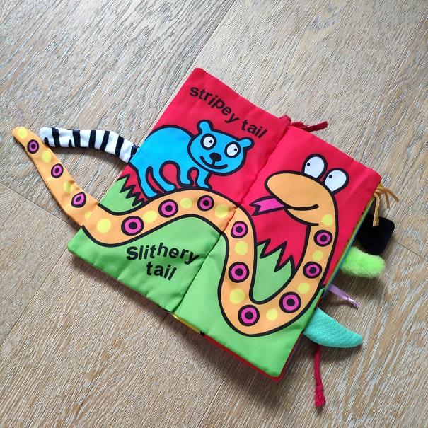 Jollybaby книжка-шуршалка