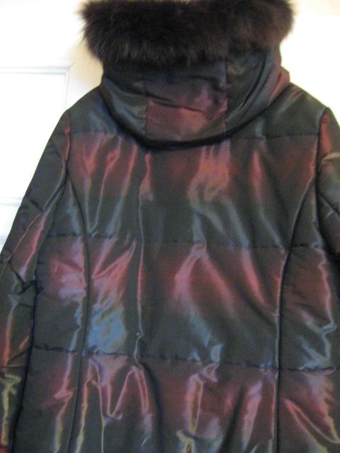 Куртка зимняя новая р.48 песец