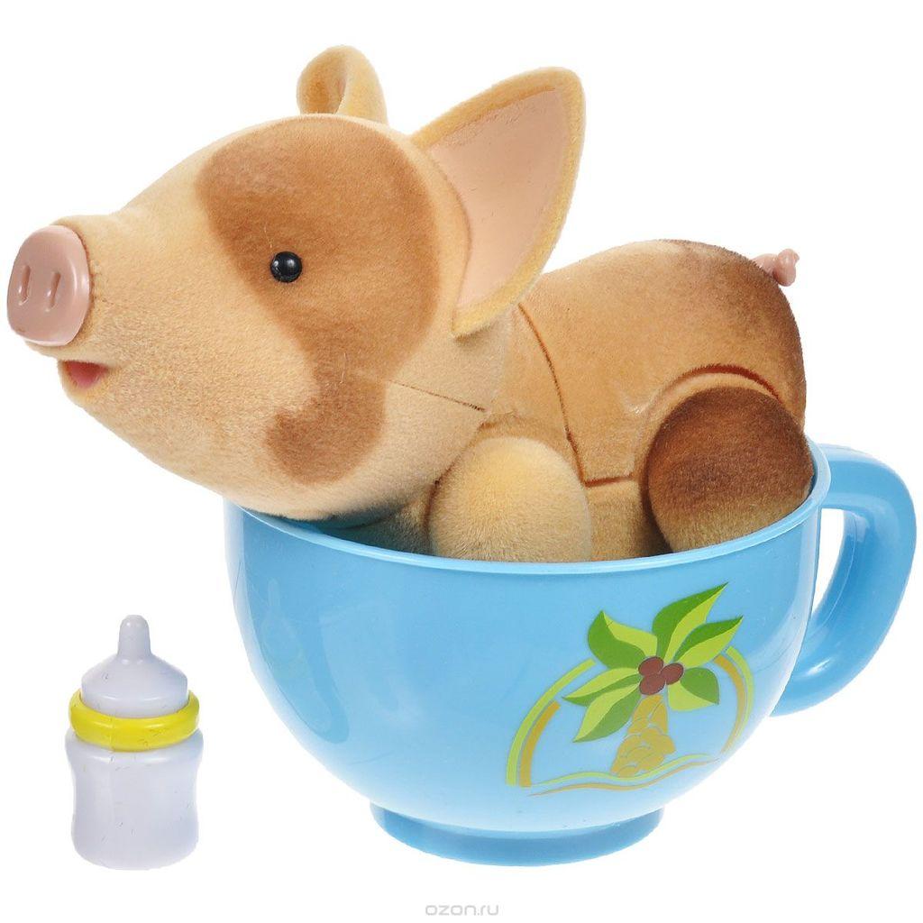 Свинки пигис милашки в чайных чашках купить