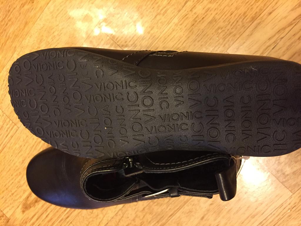 Ботинки Vionic, новые, из натуральной кожи, из США