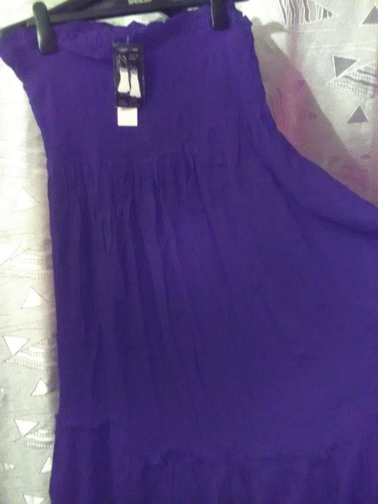 Новая трехярусная юбка в пол, бохо, или сарафан, И