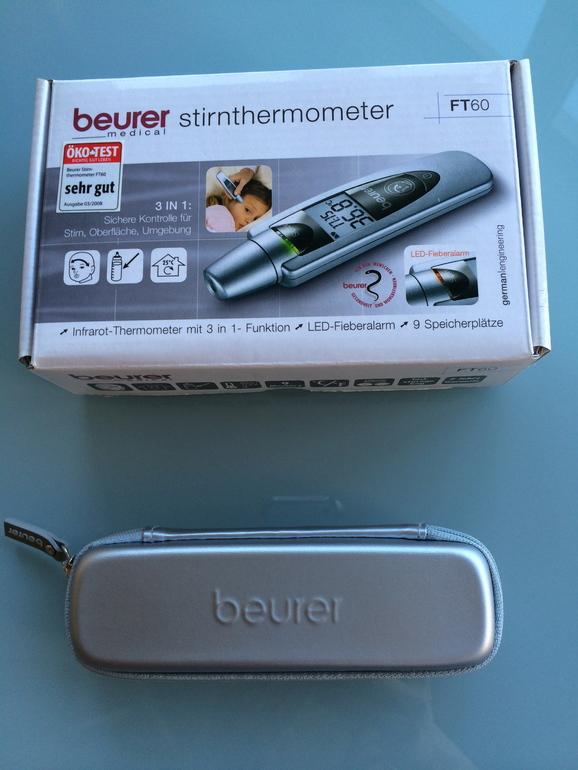 ТЕРМОМЕТР ЭЛЕКТРОННЫЙ BEURER FT60 (Beurer,Германия