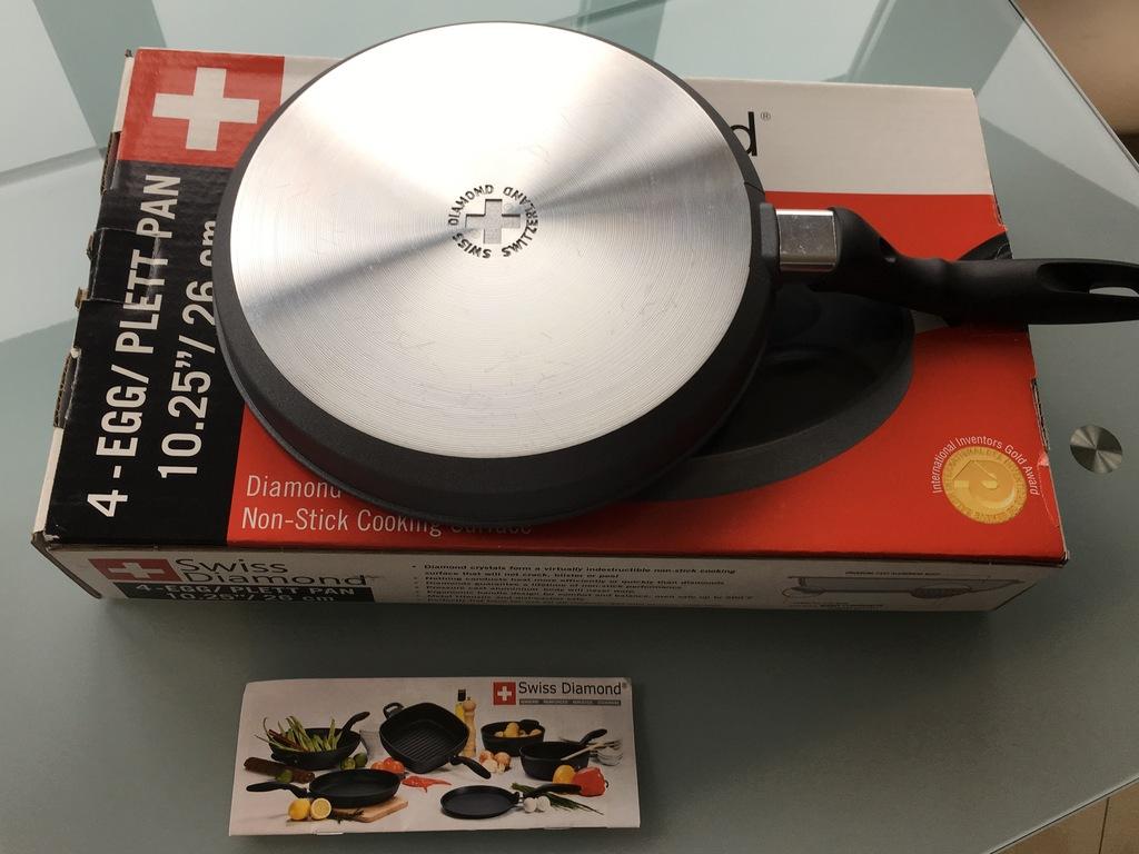 Новая Сковорода Swiss Diamond 6-326 (Швейцария)