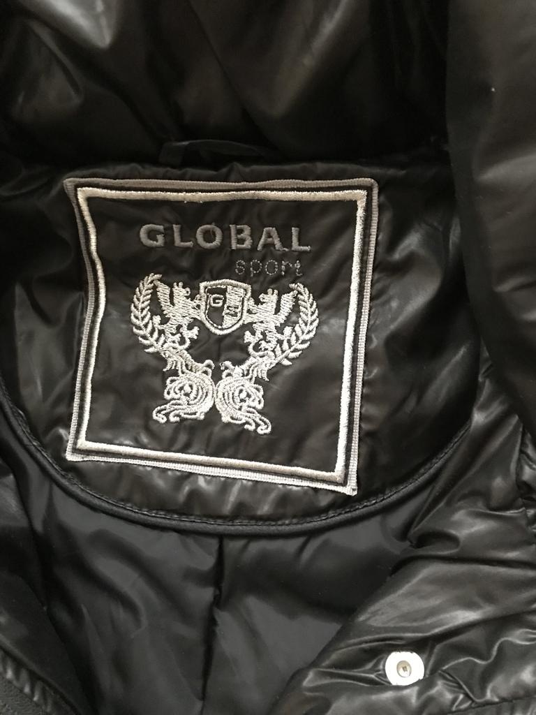 Теплое Пальто Global Sport Финляндия р.44-46 (б/у)