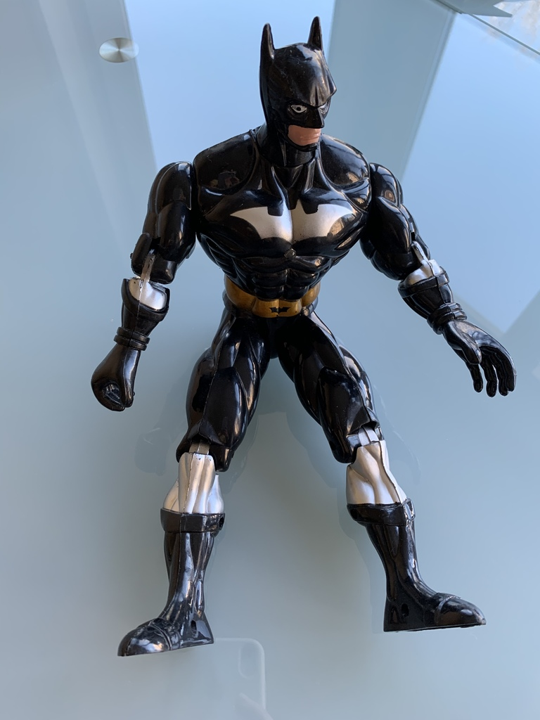 Фигурки: Черепашка Нинзя, Человек-Паук, Бэтмен Ори