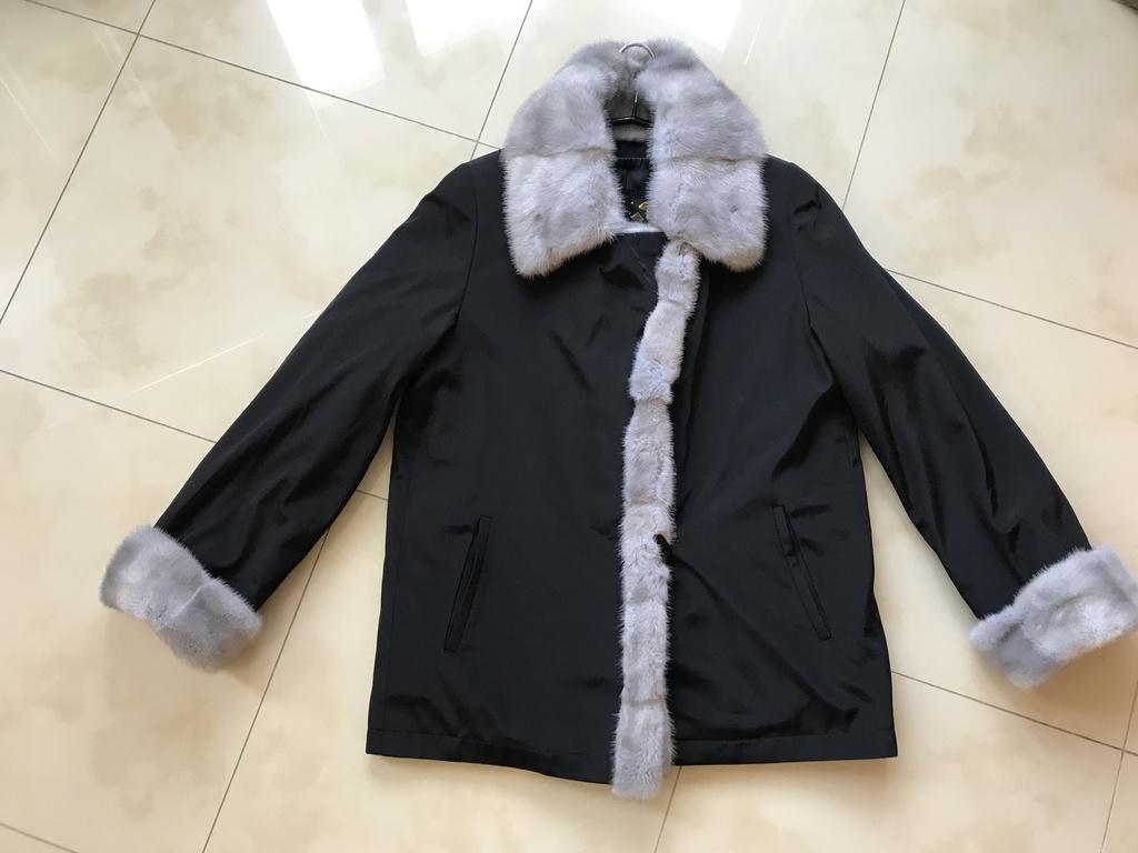 Пальто-Куртка Автоледи с норкой на меху. Новая