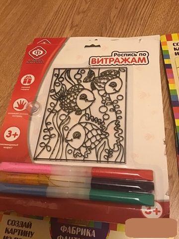 Новые наборы для творчества для детей.