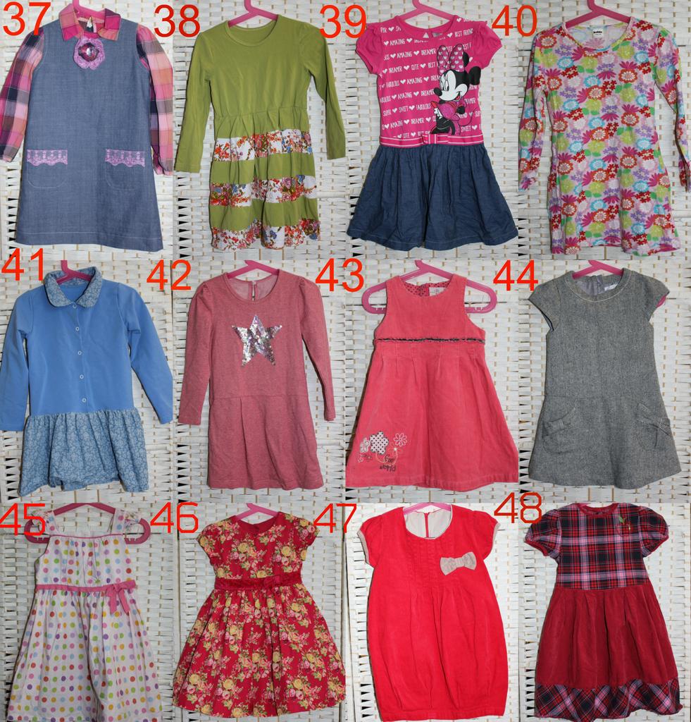 Пакет одежды на девочку, 104, 110 см, в идеале