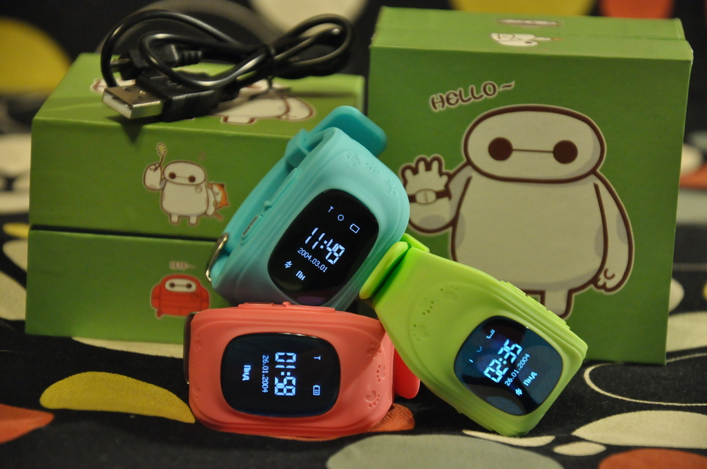 Детские часы GPS