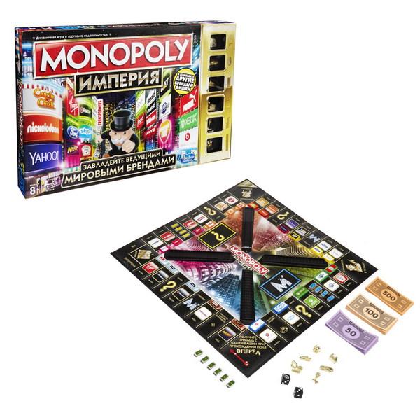 Монополия Империя обновленная GAMES HASBRO B509512