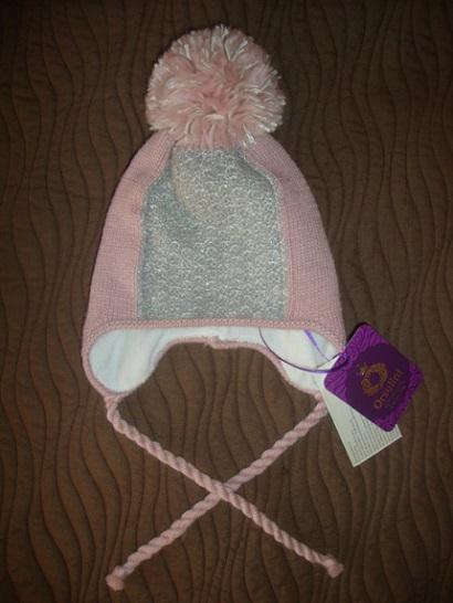 Новая зимняя шапка д/д ORSOLINI (Италия) 50-52.