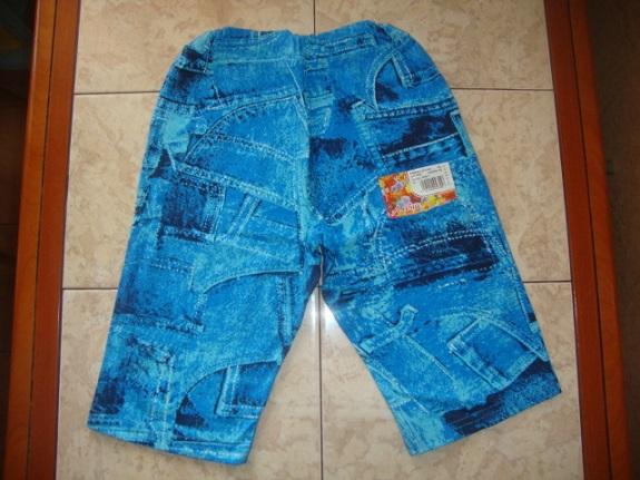 Новые хлопковые бриджи д/м под джинсу 110-116р