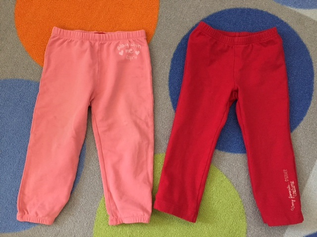 спортивные штаны на 86-92 S.Oliver И Esprit