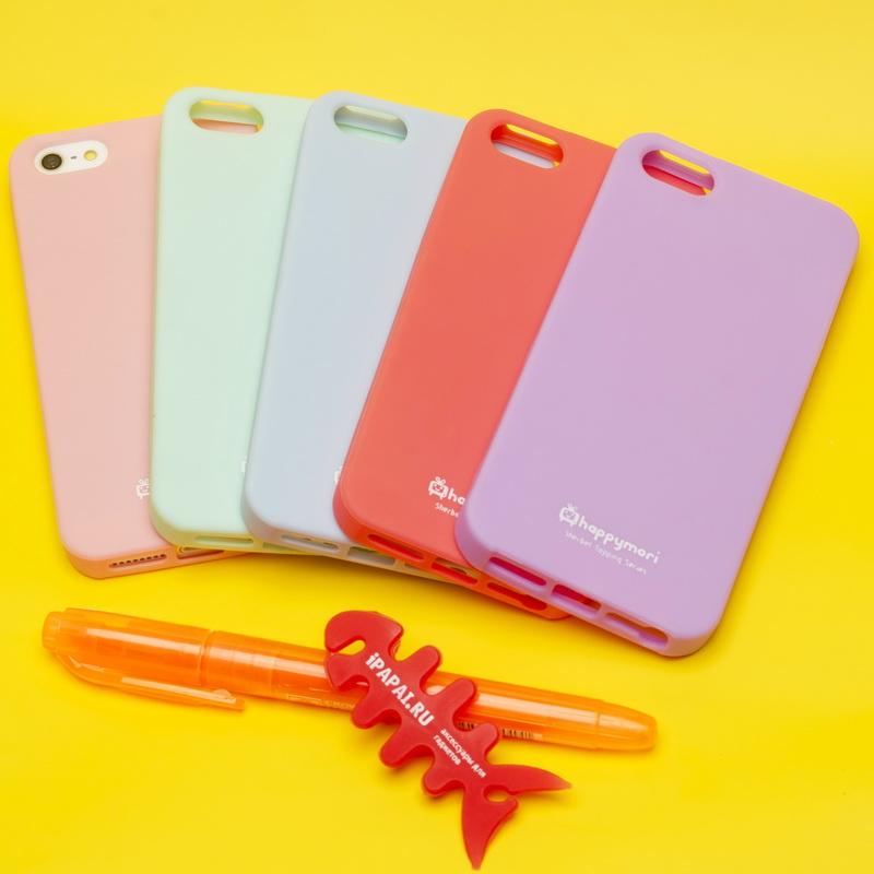 Чехол iPhone 5 Happymori силиконовый