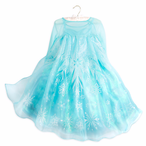 Платье эльзы светящееся