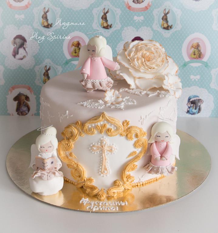 торт на крестины с ангелами фото команда футболистов