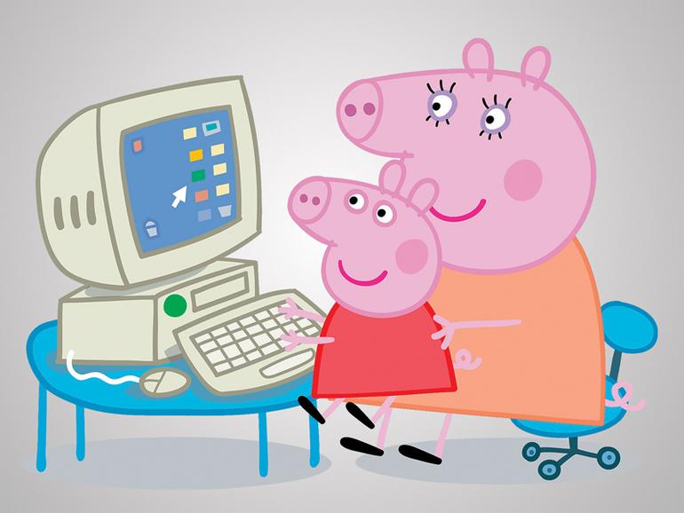 Яндекс свинка пеппа смотреть онлайн