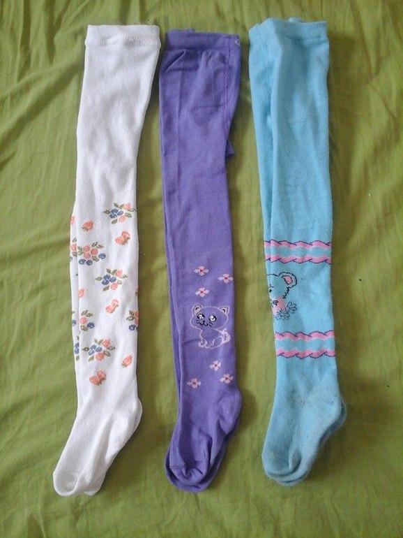 Ещё есть такие колготки-легинсы, осенью и зимой удобно было в них-сразу с  носками махровыми или утеплёнными. В саду посмотрим, возможно, колготки  проще ... fc7a59e89cf