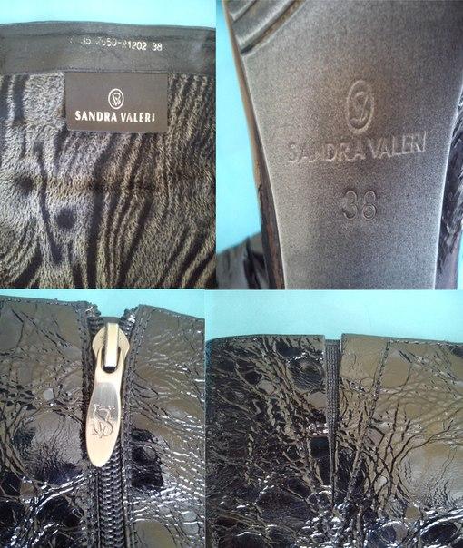 8eb058e6f Сапоги 38 размера демисезонные натур. лаковые SANDRA VALERI (Italy). В  хорошем состоянии. Каблук 10 см. Есть скрытая резинка. Цена 3500 рублей.
