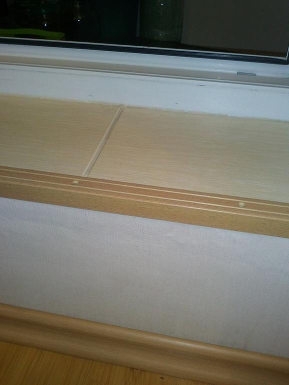Как у вас оформлен порог на балкон в комнате? - порог на бал.