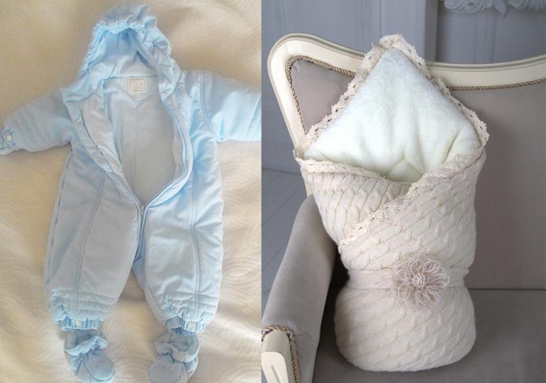 Как правильно одеть новорожденного ребенка на выписку