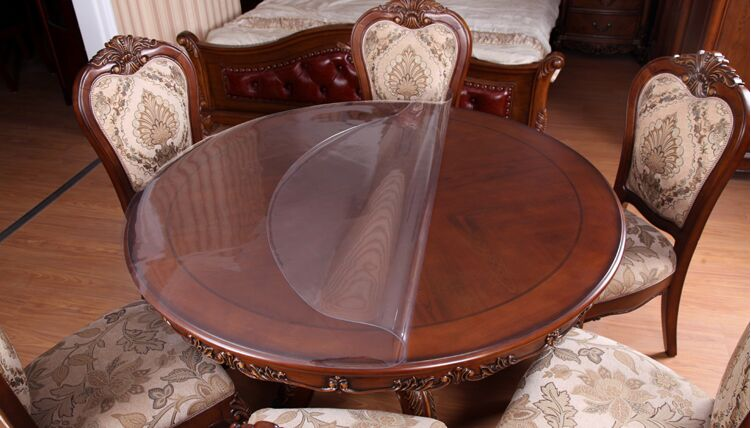 Скатерть на стеклянный стол фото
