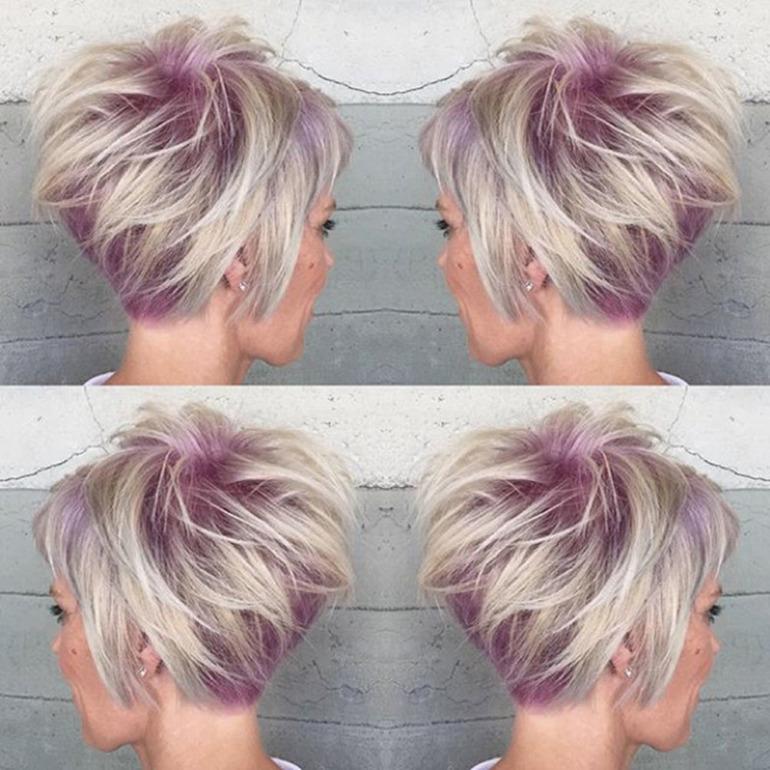 состав стильное окрашивание очень коротких волос фото клиентов