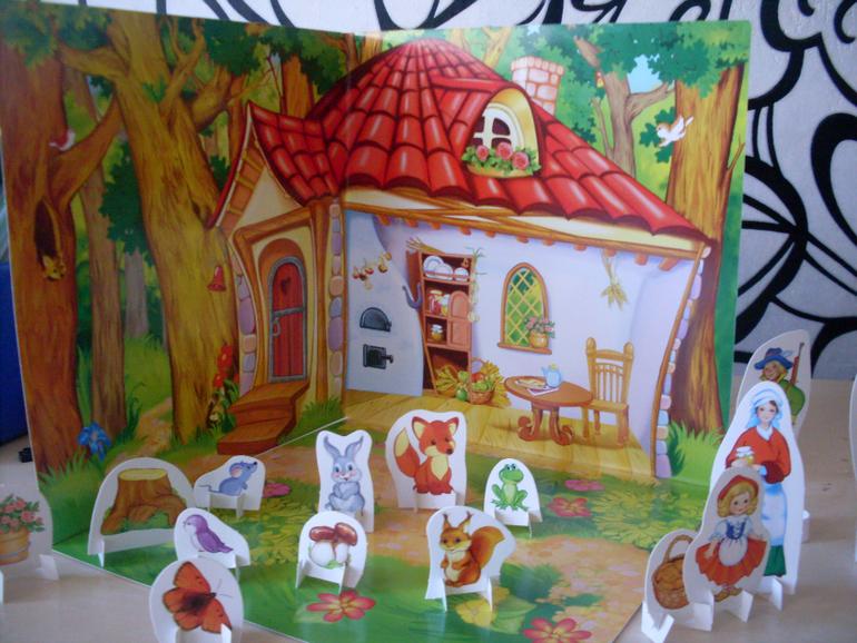 Картинки декораций к сказкам для дошкольников
