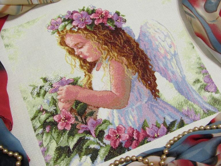 Ангел инструкция цветочный