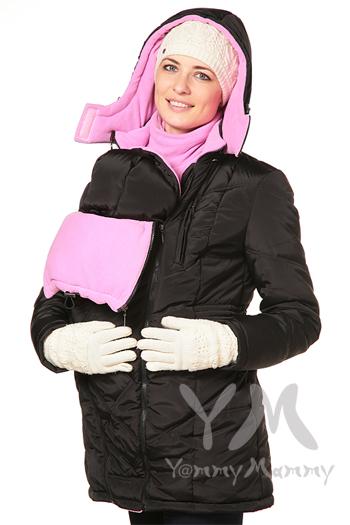 Универсальная куртка зимняя 3 в 1 черный розовый Размер 44 (по отзывам  немного большемерит) 5500р 923c6b5fa48