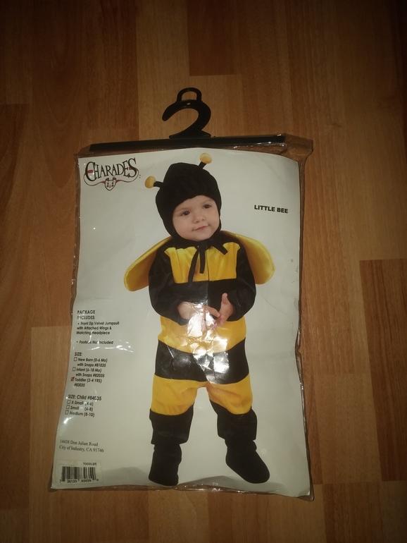 костюм пчелки за 5 минут: