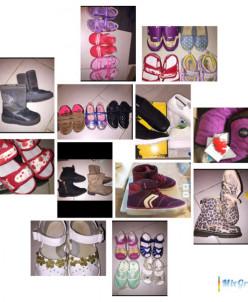 много обуви