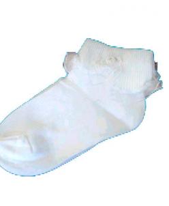 Носки нарядные белые для девочек 4-6 лет