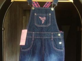 Новый джинсовый сарафан Barkito.Размер 122.