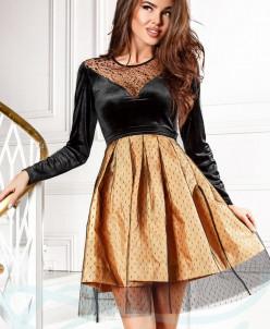 Нарядная расклешенная юбка Gepur