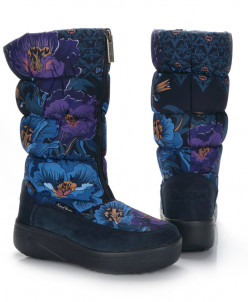 Дутики King Boots KB510BL Blau Синий