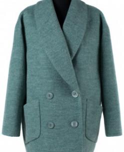 Пальто женское демисезонное Вареная шерсть