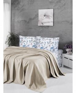 Летный комплект постели с вафельным покрывалом - First Choic
