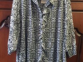Новая туника-рубашка Rosa Корея размер 56