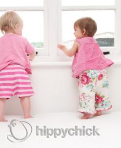 """Детская непромокаемая простынка """"Hippychick"""" двусторонняя"""