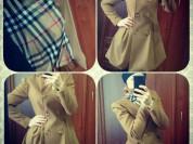 Пальто Burberry, шикарное качество, ниже закупки!