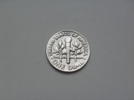 Монета 10 Центов 1985 год D США
