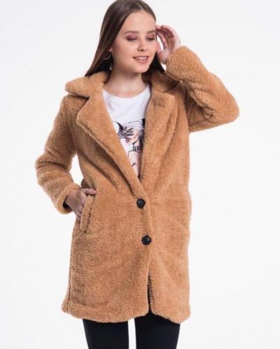 Пальто чебурашка