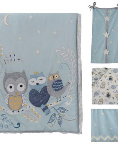 Lambs & Ivy Night Owl Happi by Dena   комплект 13 предметов