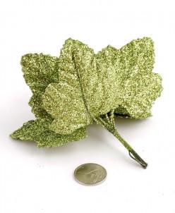 Листочки декоративные MAGIC HOBBY  уп.10шт цв. зелёный