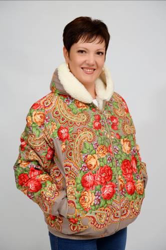 Куртка Женская «Матрешка» с капюшоном