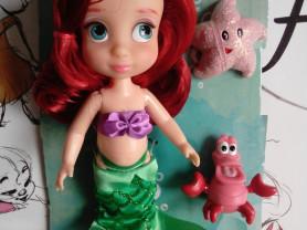 Мини-кукла Ариэль Disney Animators